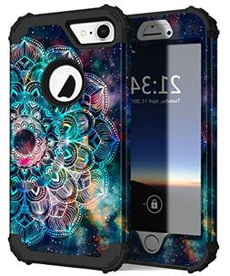 Hocase iPhone 8 Case/iPhone 7 Case, Shockproof Protection He