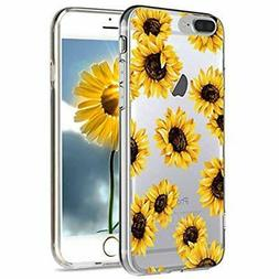 IPhone 8 Plus Case Cases Holsters & Sleeves Floral Clear, 7