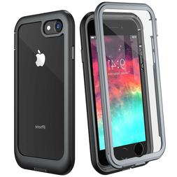 For iPhone 8 Plus Shockproof Case iphone 7 Cover Screen Prot