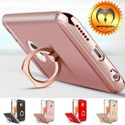 For iPhone X 6 6S 7 8 Plus Ring Shockproof Protective Luxury