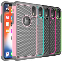 For iPhone XR X XS Max 8 7 6 6S Plus Shockproof Phone Case H