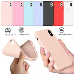For iPhone XR/XS Max/X/XS/6/6S/7/8 Plus Original Silicone Cu