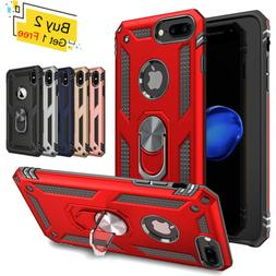 For iPhone XS Max XR 7 8 Plus 6S Armor Shockproof Magnetic R