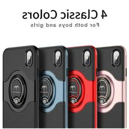 For iPhone XS Max XR X 6 6S 7 8 Plus Shockproof Hybrid Rugge