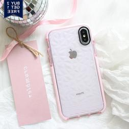 For iPhone XS Max XR X 7 8 Plus Shockproof Case Cute Girly T