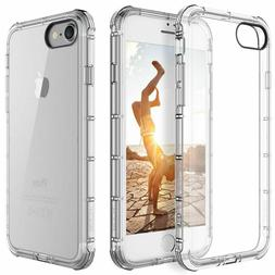 for iPhone7 /8 | Case Clear Hybrid Slim Shockproof Soft TPU