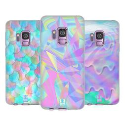 HEAD CASE DESIGNS IRIDISCENT SOFT GEL CASE FOR SAMSUNG PHONE