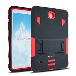 iRHINO Kickstand Hybrid Phone Case Black Red