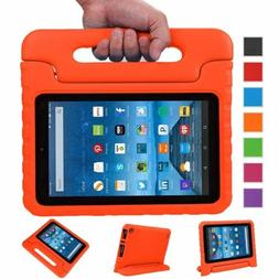 Kids Shockproof Foam Handle Stand Tablet Case For Amazon 201