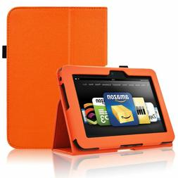 Acdream Kindle Fire Hd 7 2012 Case, Folio Leather Cover Case