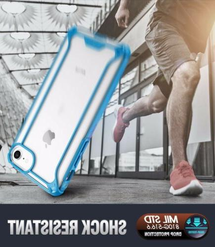 For iPhone / 7 Case POETIC【Affinity】Transparent TPU Cover