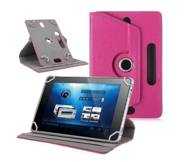 "360° Folio Leather Cover Universal Tablet PC 7"" 9"" 10"""