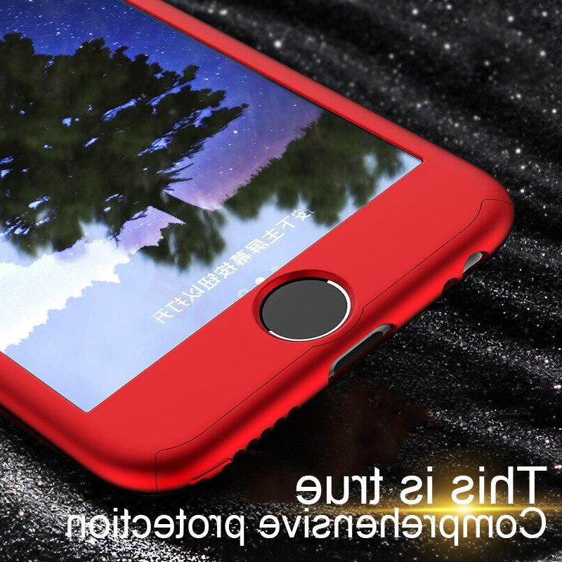 360 Full Cover <font><b>Case</b></font> 6 5 Cover <font><b>iPhone</b></font> 7 8 <font><b>Plus</b></font> XS <font><b>Case</b></font> With