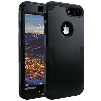 ULAK 3in1 Hybrid Heavy Duty Shockproof Protective Case for i