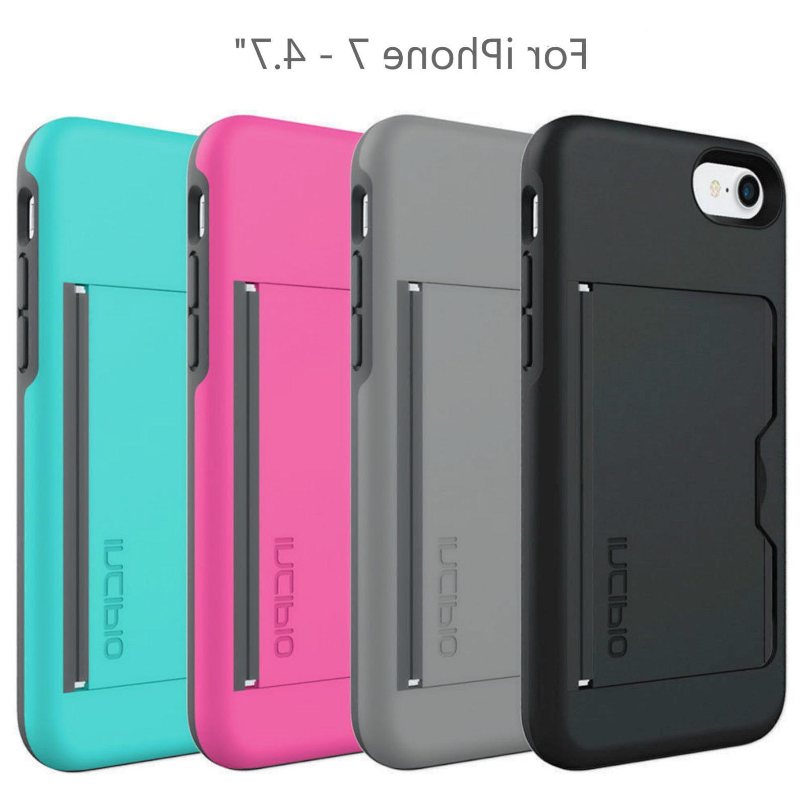 4 color stowaway credit card id case