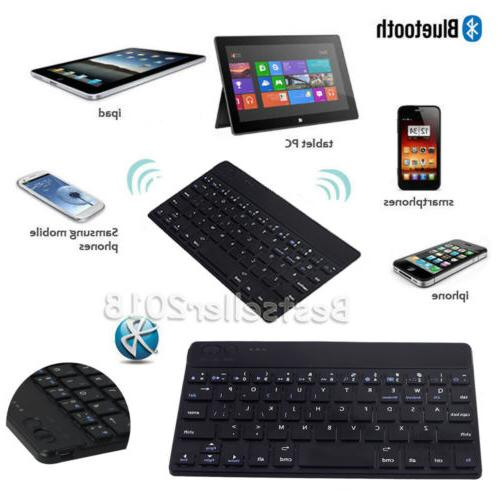 "For 7"" 7 Tablet Keyboard Universal Leather"