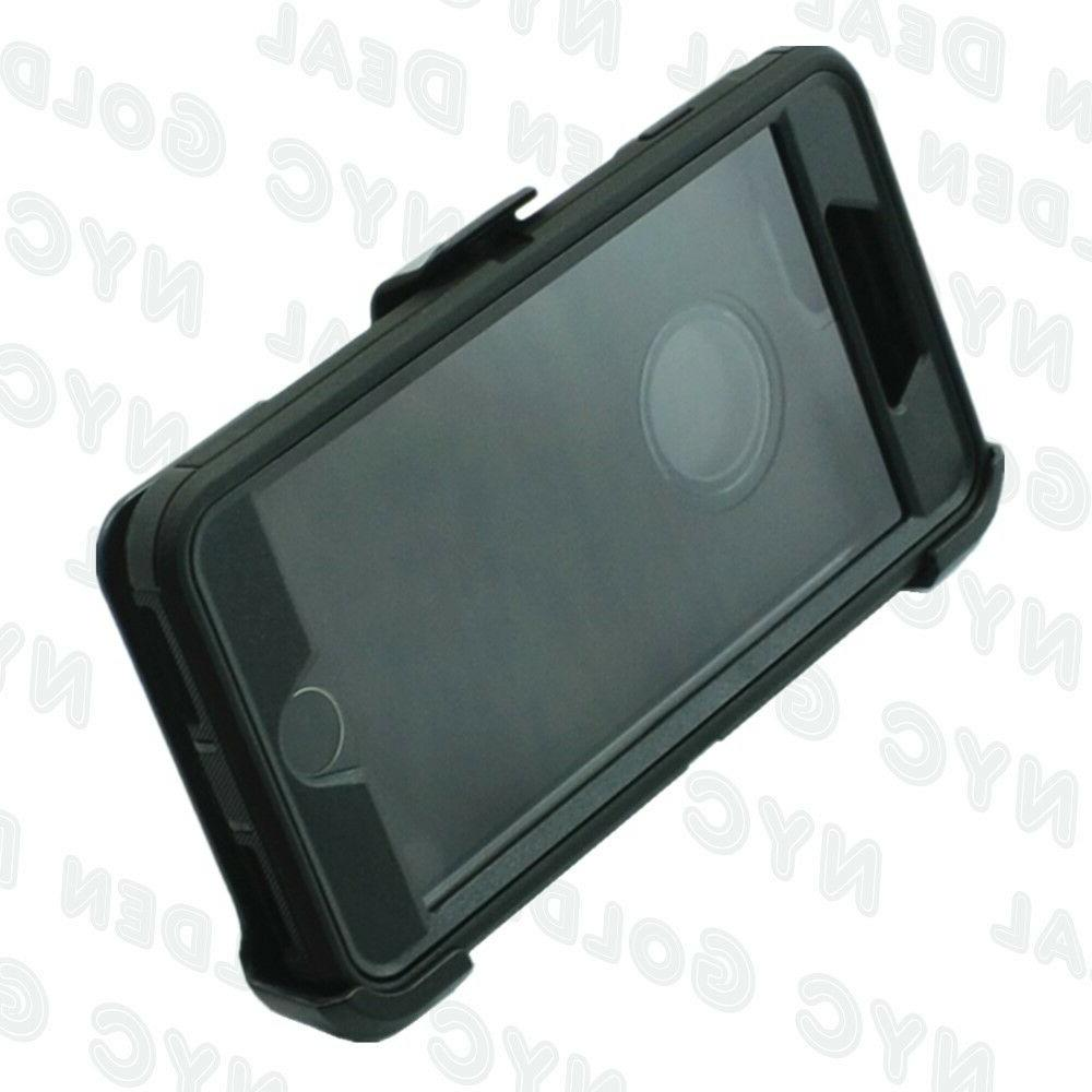 Black iPhone Defender Cover w/ &Screen Protector