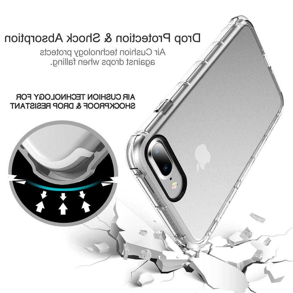 For Apple iPhone Case Clear Shockproof Bumper Cover
