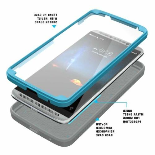 For ZTE POETIC Heavy Duty Complete Protection Shockproof