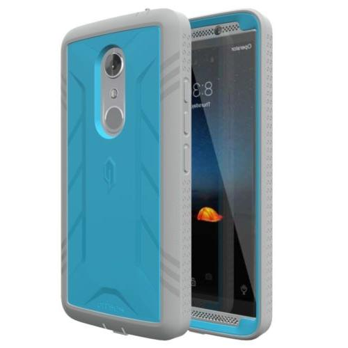 For ZTE AXON POETIC Protection TPU Blue
