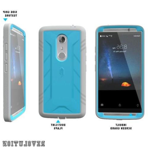 For ZTE AXON 7 POETIC Protection Case Blue
