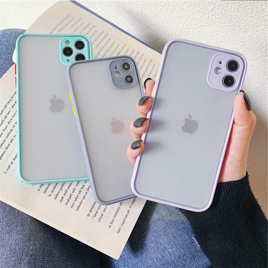 Silicone Case For iphone 12 11 Pro Max SE2020 XS XR 7 8 Plus