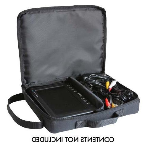 "Soft Padded Carrying Case for 5"" to 7"" LCD Video Monitor Kit"
