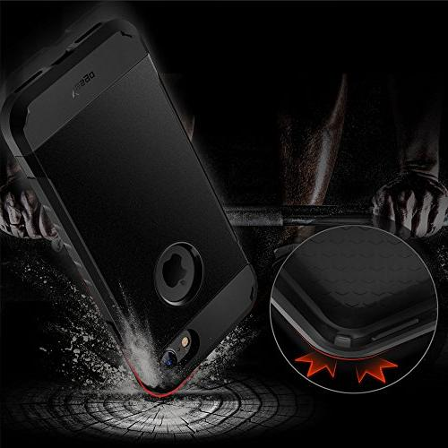 Yesgo Compatible 7 Shockproof Anti-Scratch with Heavy Layer Rugged Case Non-Slip Cover