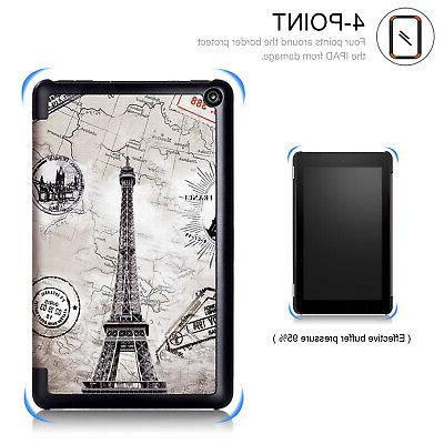 """For All-New Fire 7 2019 7"""" Tablet Case Leather Stand"""