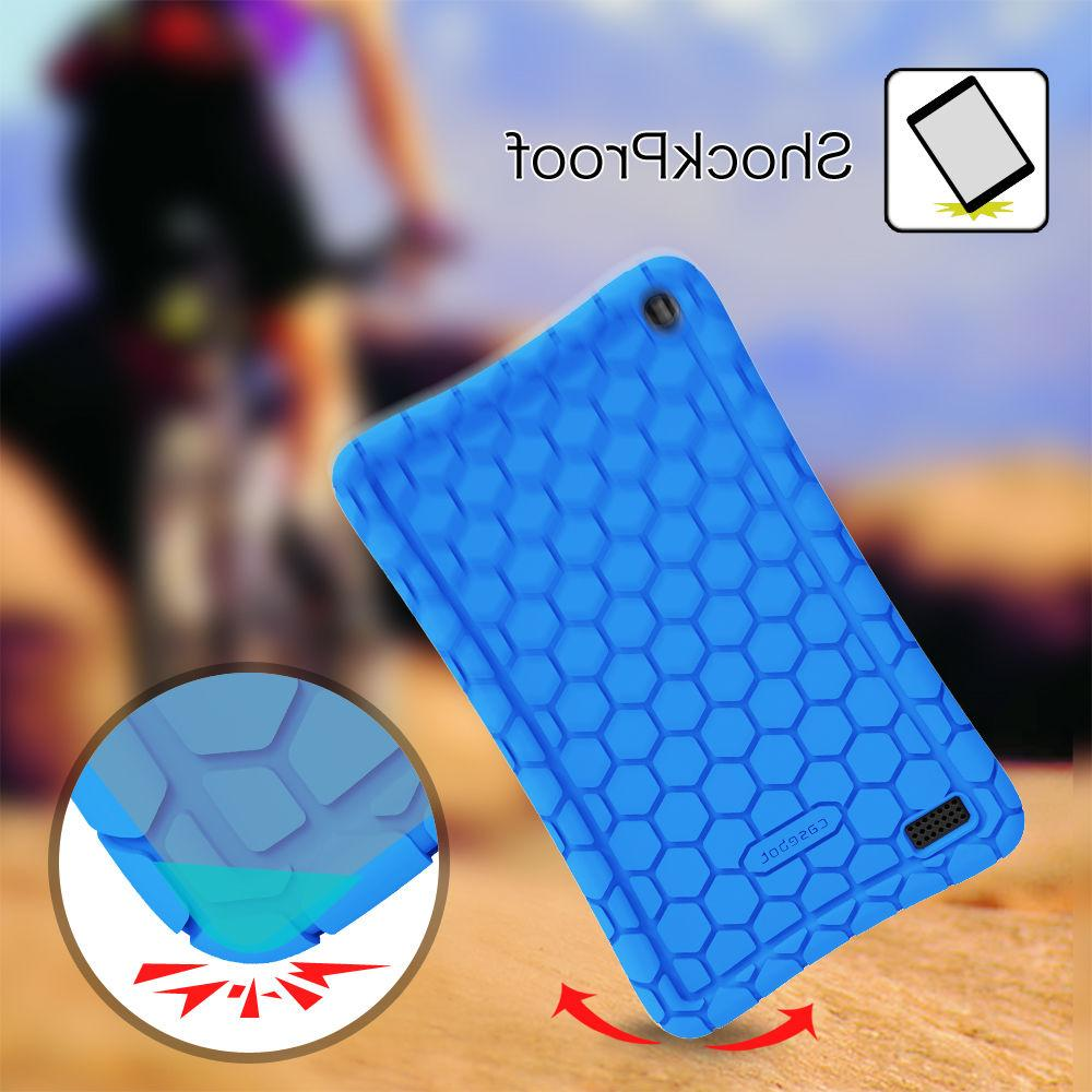 7 Tablet Silicone Case Cover Friendly