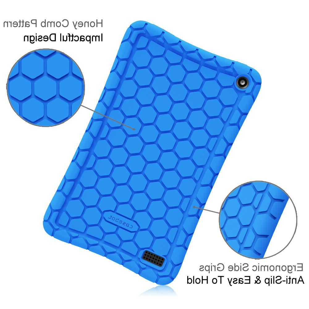 For 7 2017 Silicone Case Cover Kids Friendly
