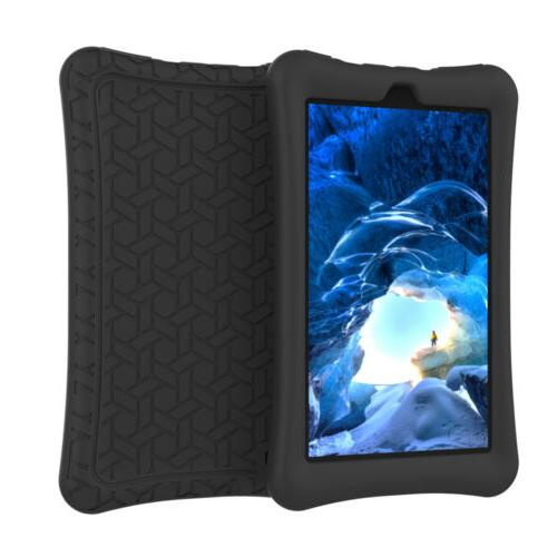 For All-New 7 Tablet Kids Silicone Case Cover 9th Generation 2019