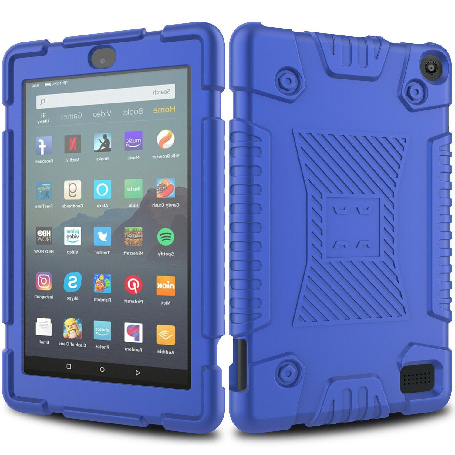 For 7 9th 2019 Tablet Case Cover+Screen Protector