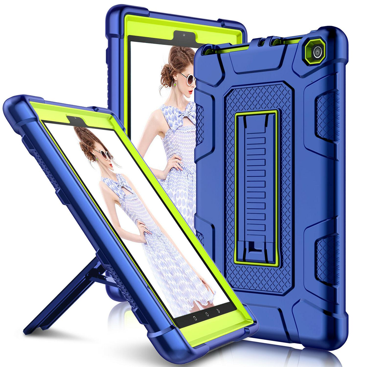For Amazon Fire 7 7th Gen Heavy Tablet Stand Cover