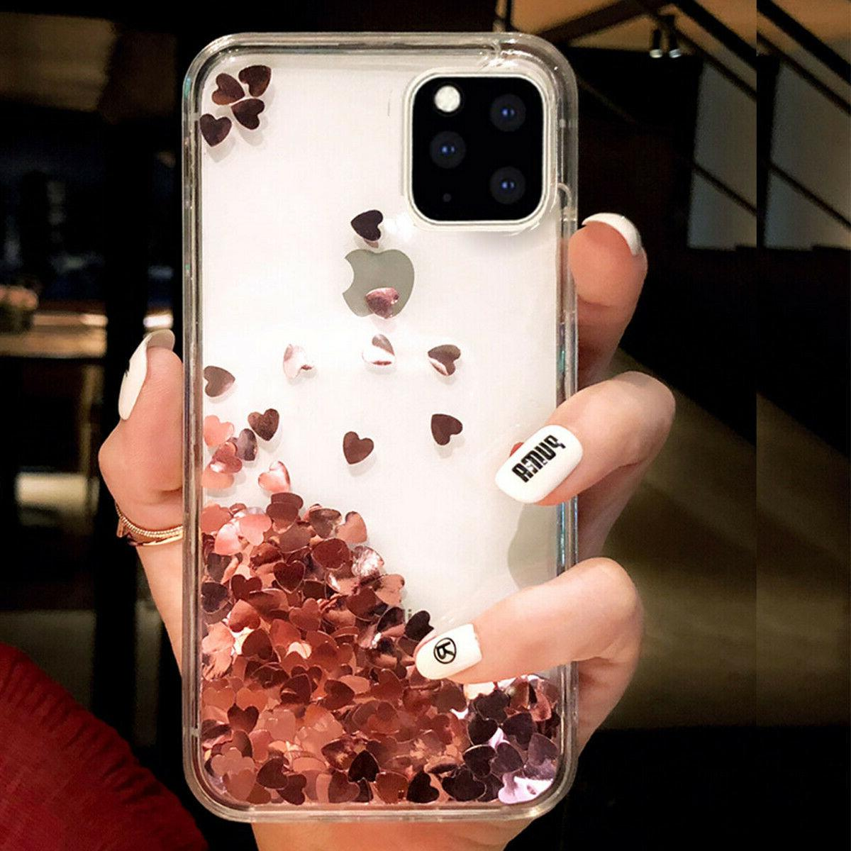 F Iphone Max 8 Plus XS Bling Glitter Women Case Cover