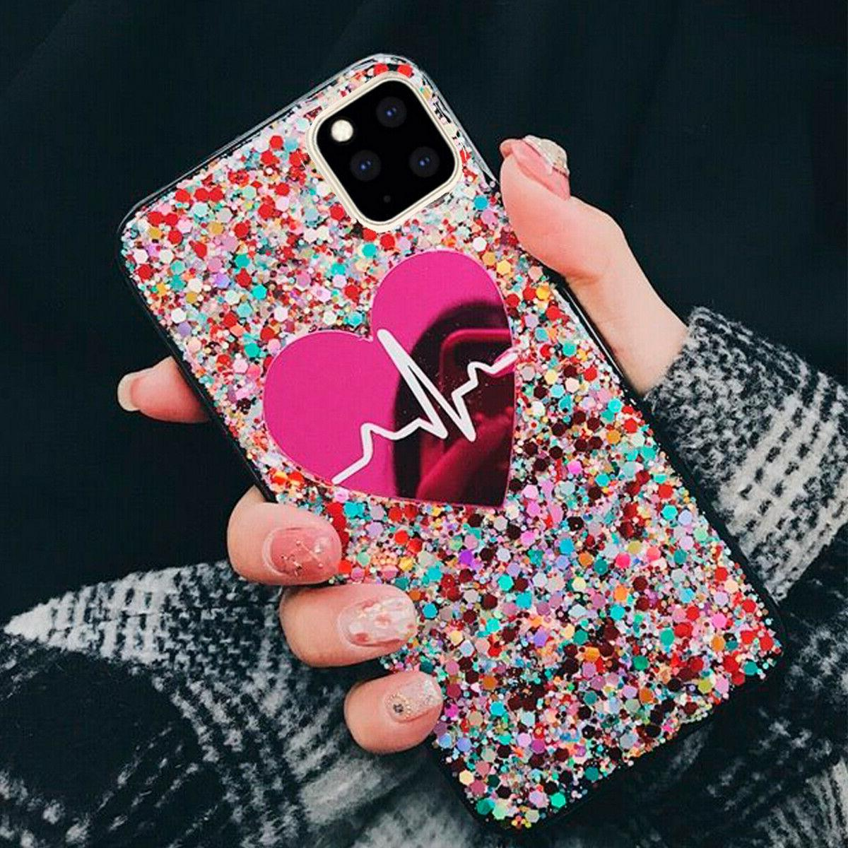 F Iphone 11 Max Plus 7 XS Max Bling Case