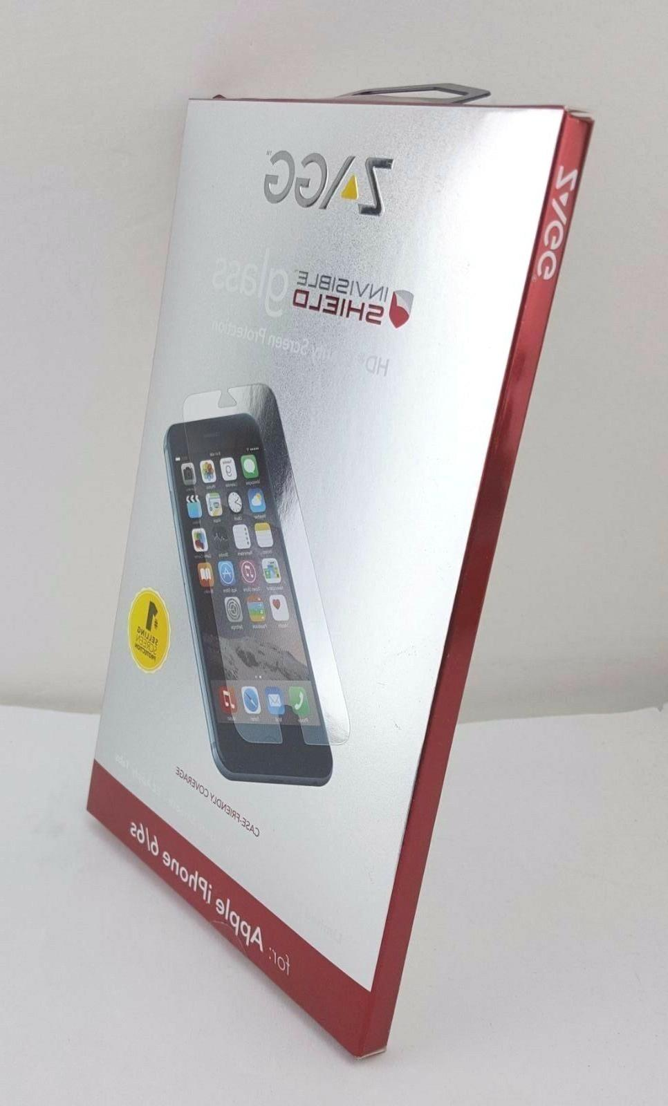 Zagg Apple Iphone 6 7 8 Invisible Shield Screen Protector Gl