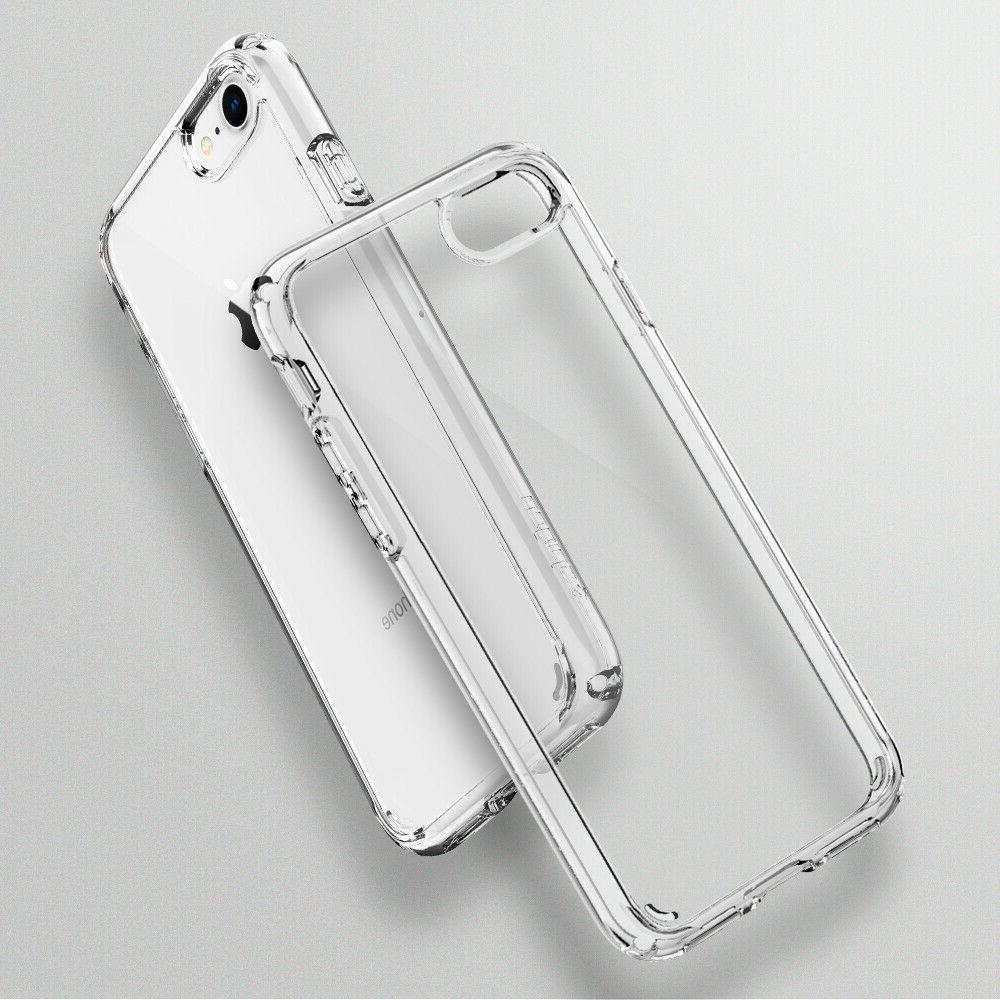 For iPhone / 7 I Spigen® Shockproof Clear TPU Cover Case