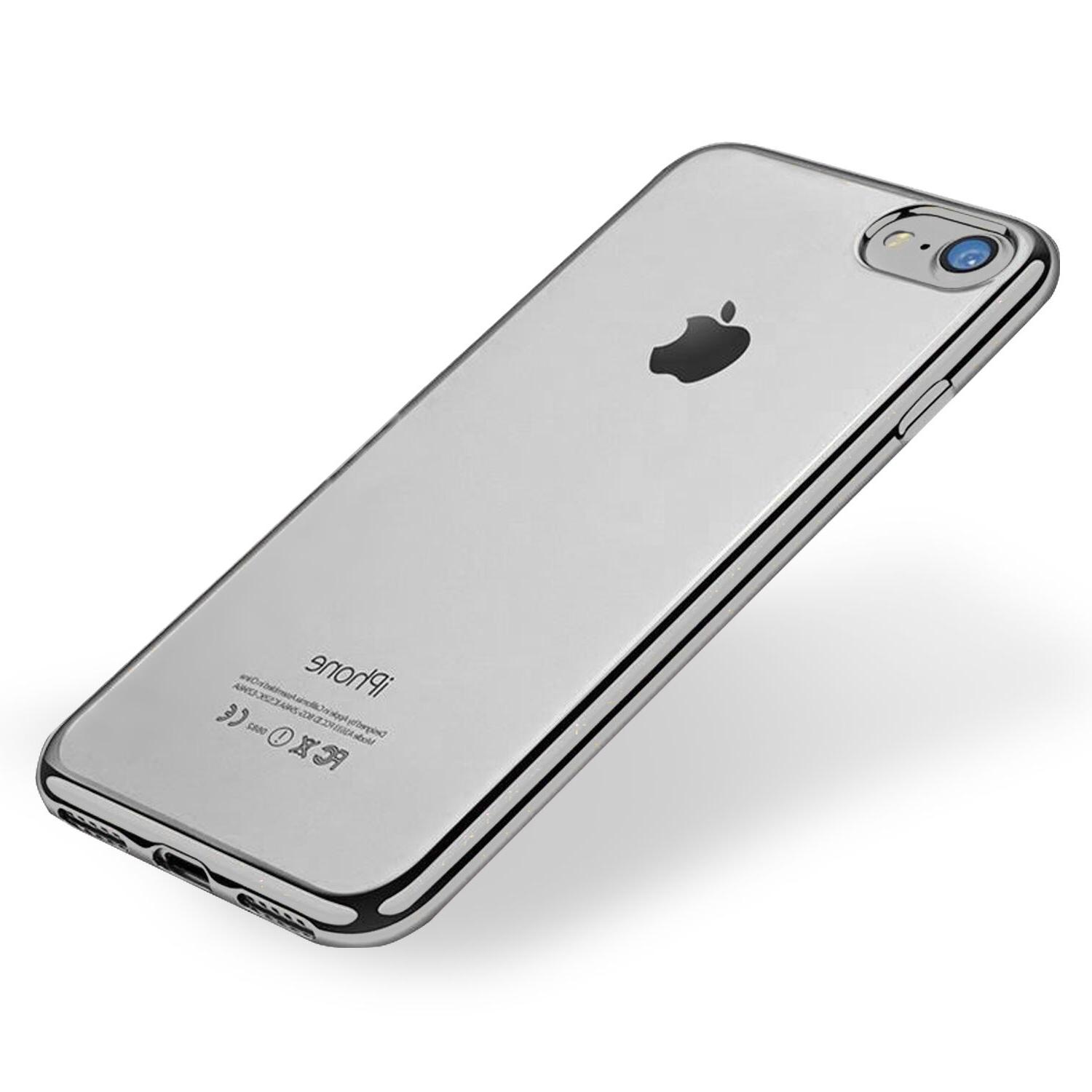For Apple 7 / 7 Plus Silicone Clear Cover Bumper Rubber