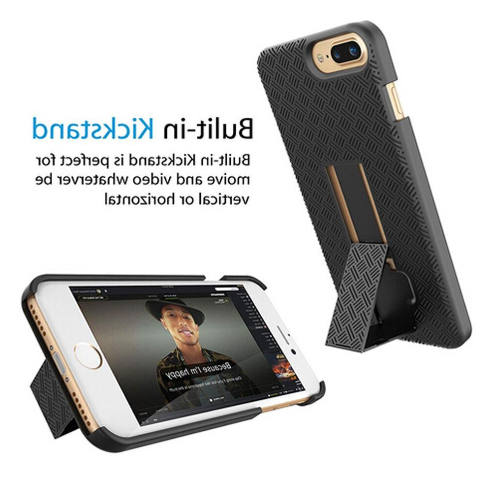 FOR IPHONE 7 7 HOLSTER BELT CLIP COMBO COVER WITH