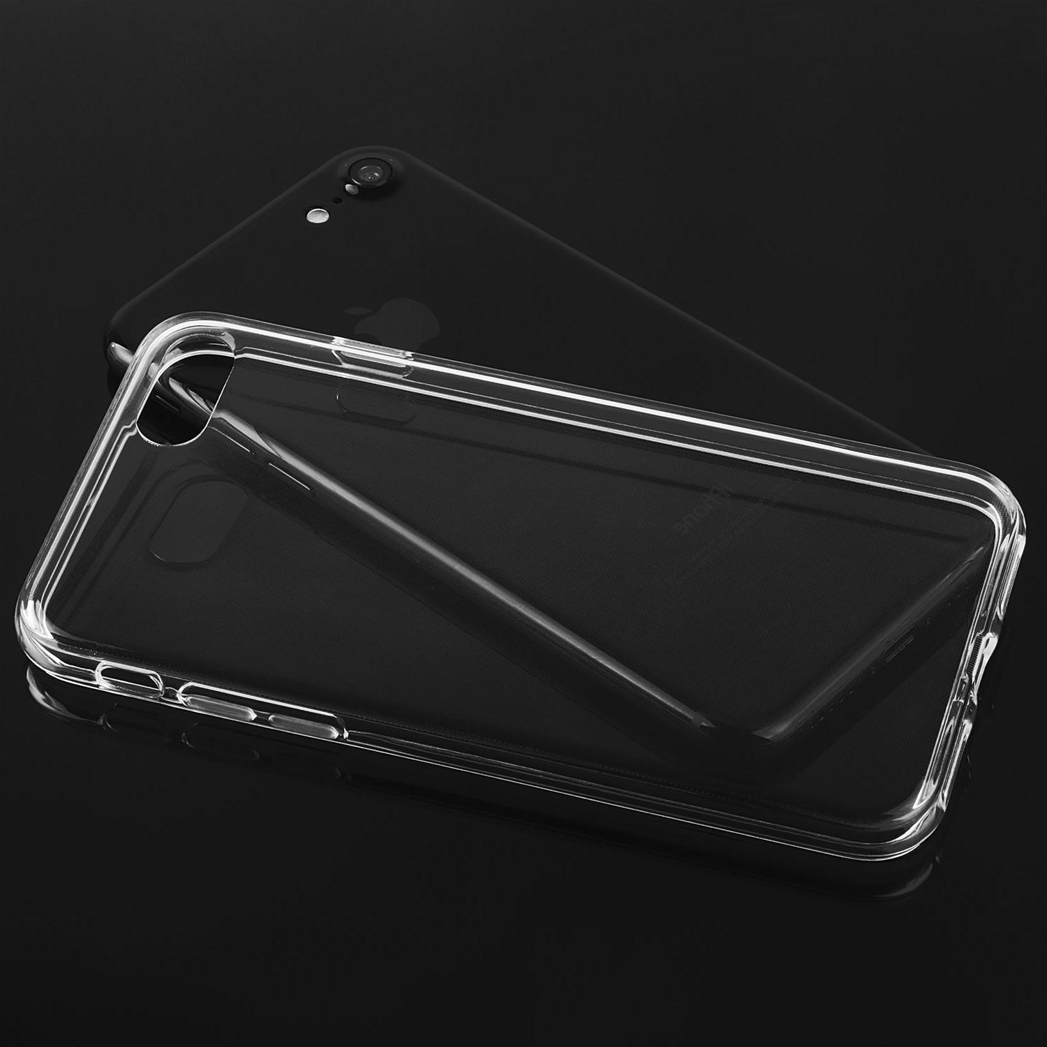 8 Clear Hybrid Shockproof Bumper Cover