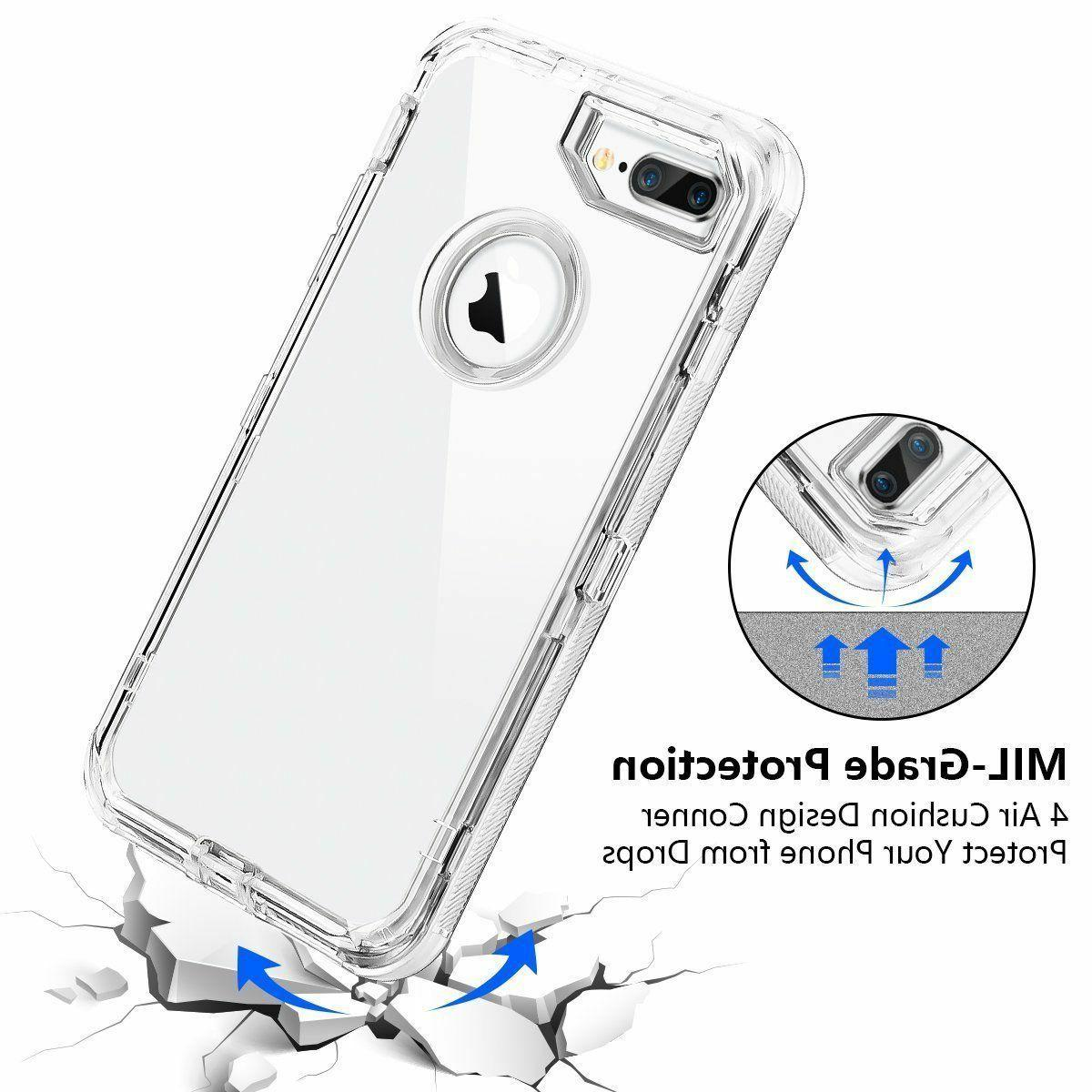 For X 6s Plus Cover Hybrid Rubber