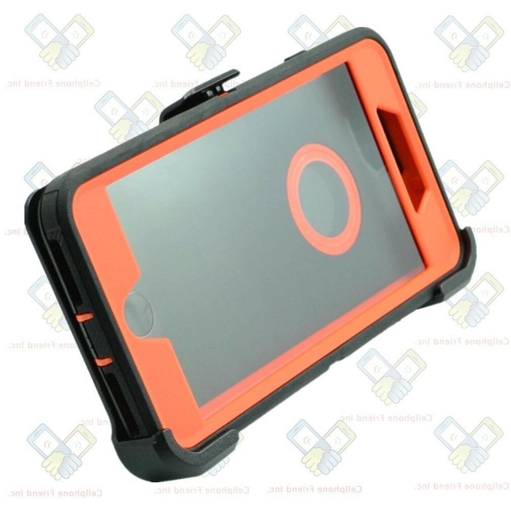 For Apple Defender Cover Orange
