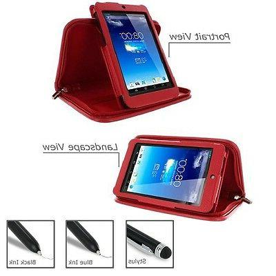 rooCASE for ASUS MeMO Pad HD 7 Executive Leather Case with S