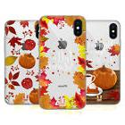 HEAD CASE DESIGNS AUTUMN ILLUSTRATION SOFT GEL CASE FOR APPL