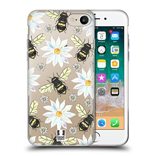bees watercolour insects soft gel