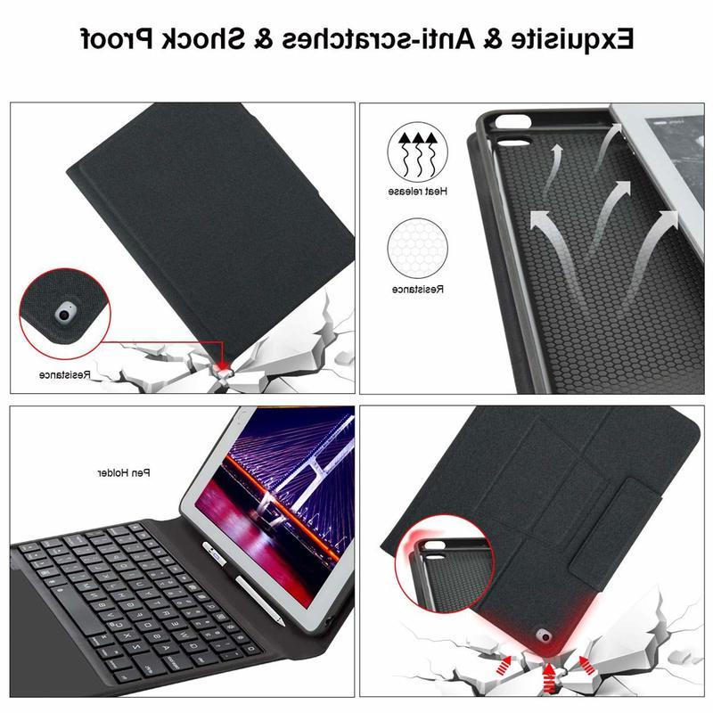 "Bluetooth Cover for 2019 IPad10.2"" Backlit and with Auto"