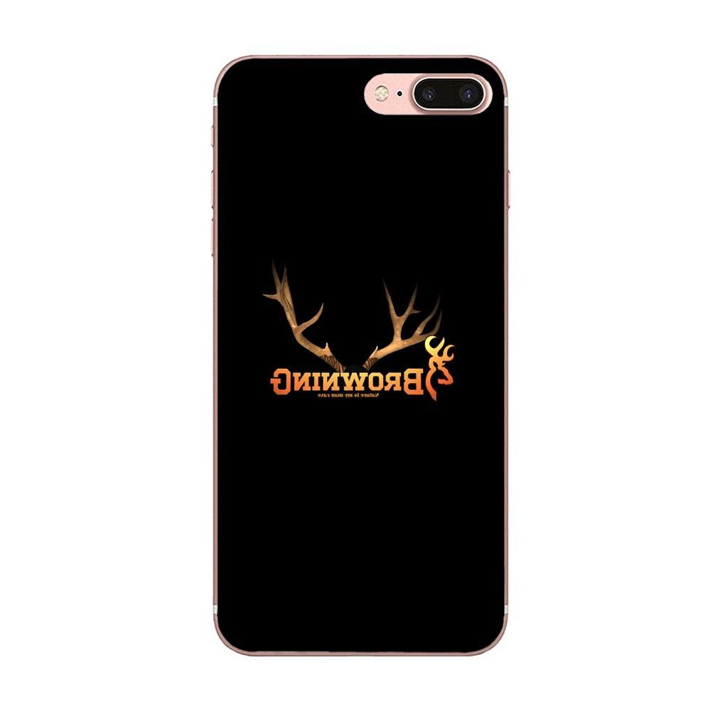 Browning Hunting For Apple XS Max XR 4S SE 6S 8 Plus Classic High-End