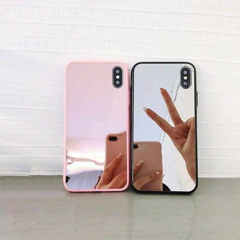 bumper slim case pink cute clear girly