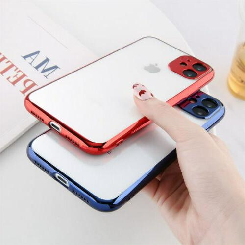 Case iPhone 11 /11 Pro 7/8 PLUS/XR XS Silicone Clear Cover